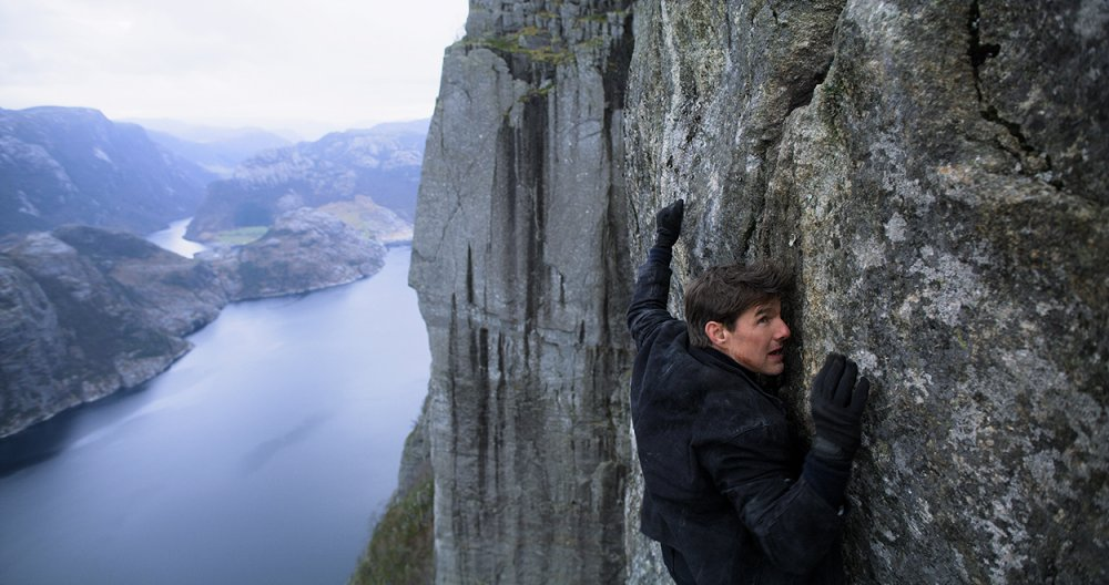 Tom Cruise as Ethan Hunt in Mission: Impossible – Fallout