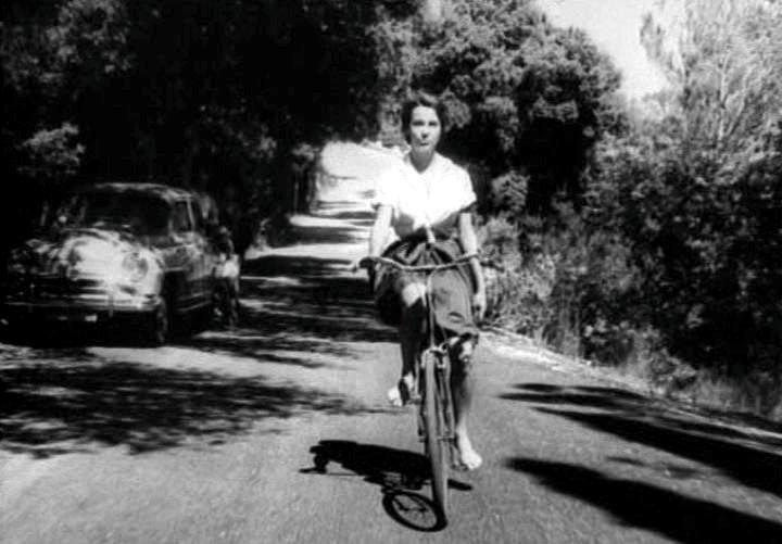 Enter Bernadette: Lafont debuts in François Truffaut's Les Mistons.