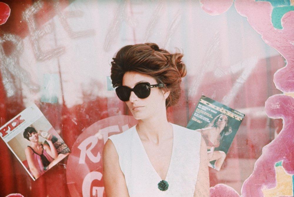 Lola (Anouk Aimée) in Model Shop (1968)