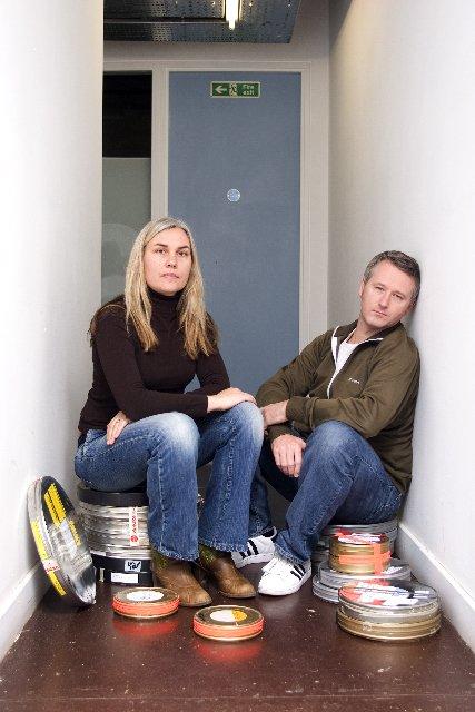 Christine Molloy and Joe Lawlor of filmmaking duo Desperate Optimists