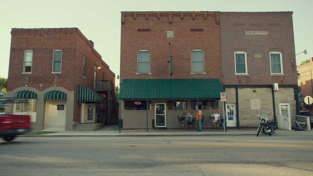 A scene from Fred Wiseman's Monrovia, Indiana