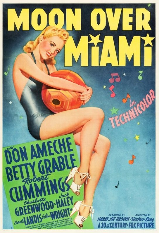Moon over Miami (1941) film poster