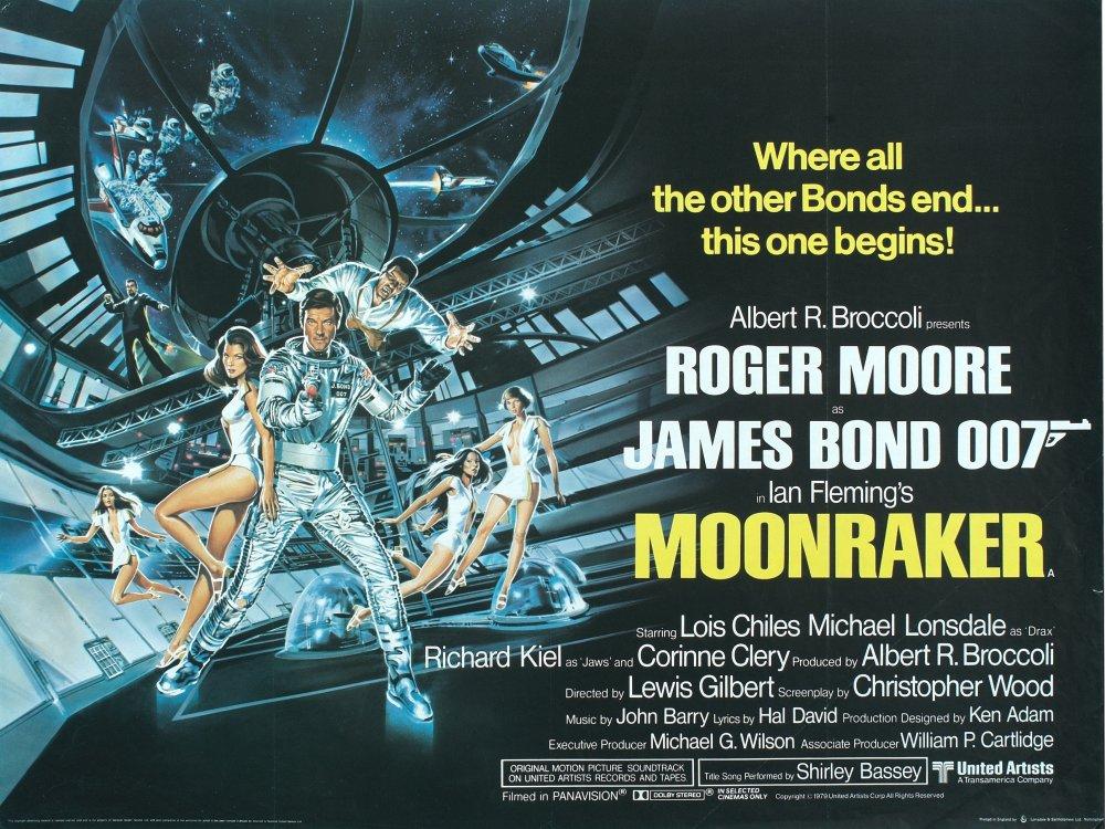 Moonraker (1979) poster