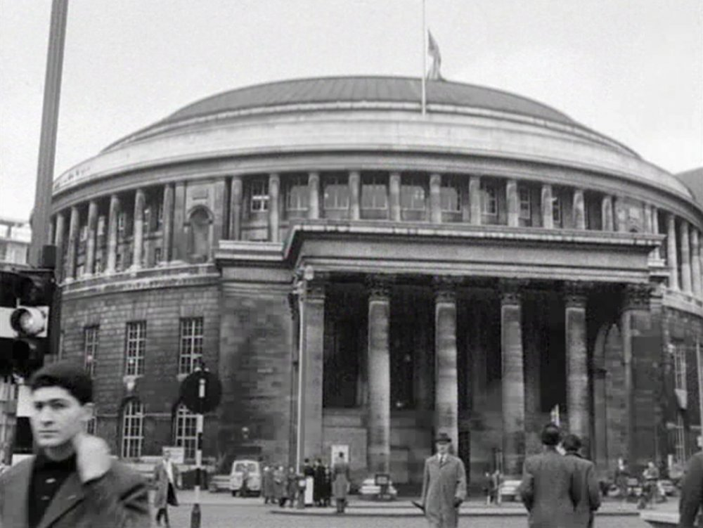 Manchester Central Library in Moslems in Britain – Manchester (1961)