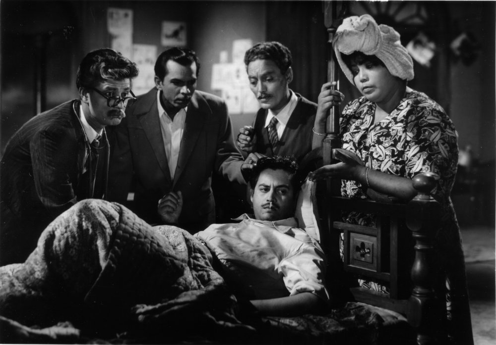Guru Dutt in Mr & Mrs '55 (1955)