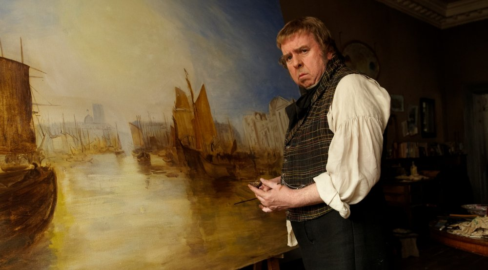 Art cinema: Mike Leigh's Mr. Turner, starring Timothy Spall, is screening in Competition in Cannes.