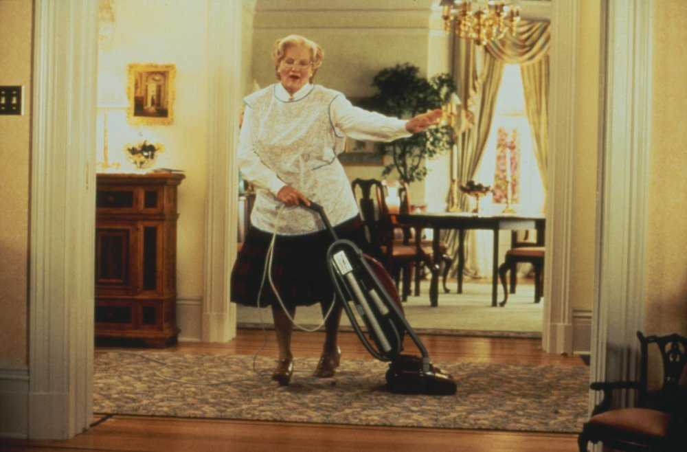 Williams memorably donned drag to play a divorced man masquerading as a Scottish nanny in Mrs. Doubtfire (1993)
