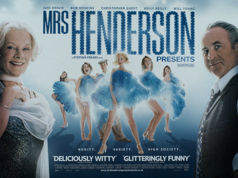 Hoskins played Vivian Van Damm, the boss of Soho's Windmill Theatre, in Stephen Frears' 2005 musical comedy Mrs Henderson Presents, co-starring Judi Dench