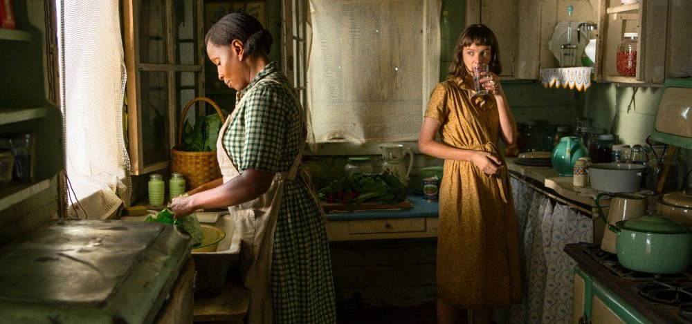 Mary J Blige as Florence Jackson and Carey Mulligan as Laura McAllan