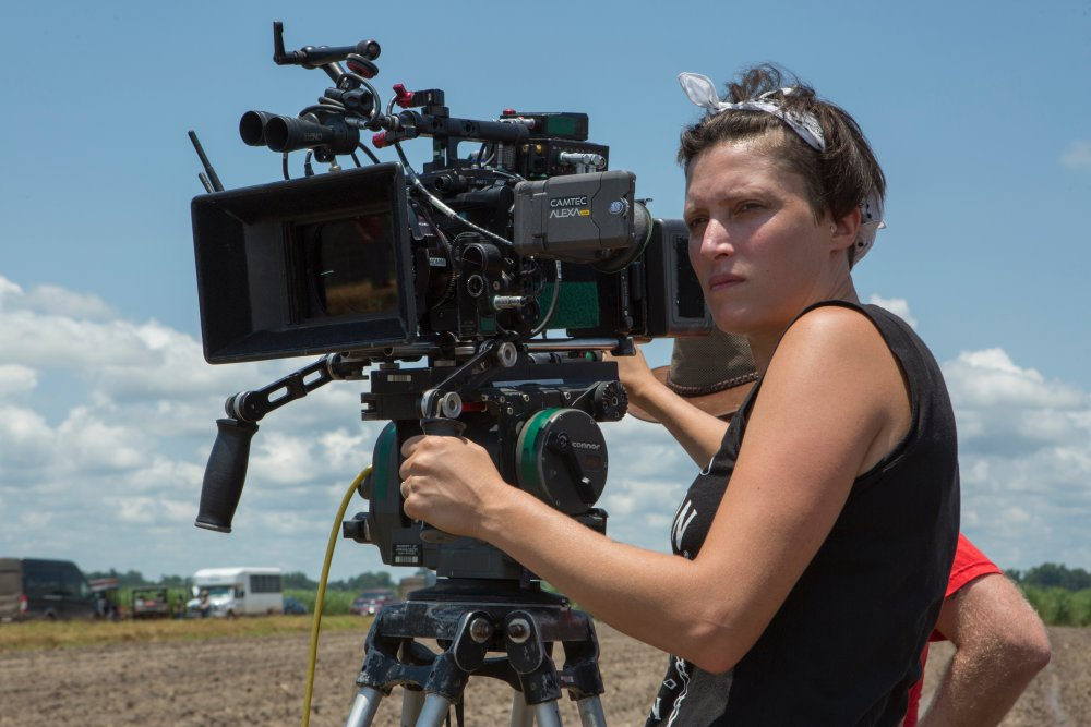 Rachel Morrison filming Mudbound (2017)