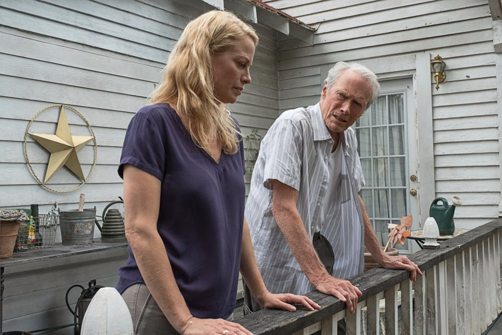 Alison Eastwood as Iris with Clint Eastwood