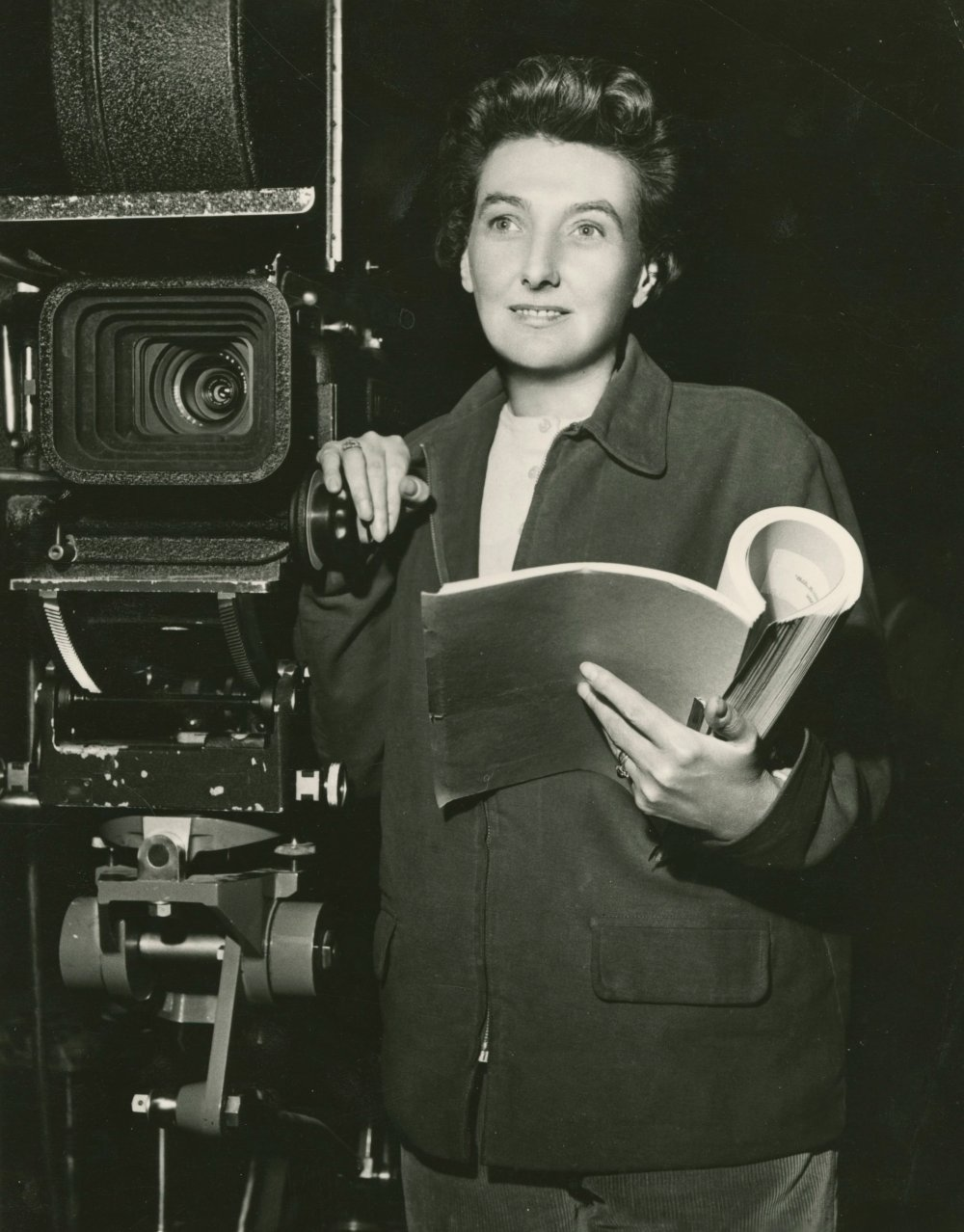 <strong>Muriel Box</strong>, screenwriter and director, The Truth about Women (1957). Box directed 16 films between 1941 and 1961.