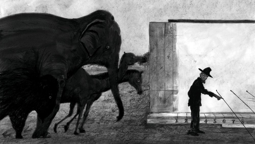 Muybridge's Strings (Maiburijji no ito, 2011)