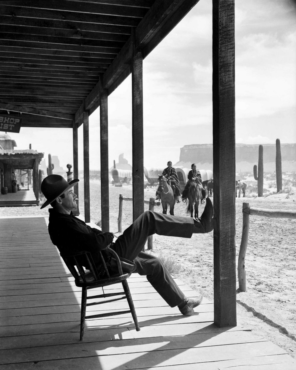 Henry Fonda as Wyatt Earp in John Ford's 1946 masterpiece My Darling Clementine, screening in a restored version this afternoon in the Journey strand