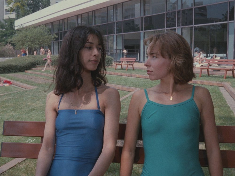 Amid the grey concrete surfaces of a new town near Paris, My Girlfriend<span>'</span>s Boyfriend (1987) has an especially great wardrobe, with Rohmer having huge fun with shades of blue and green…