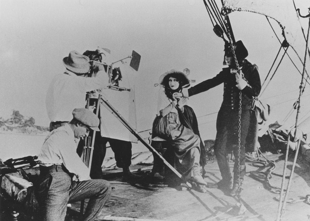 Abel Gance directs Albert and Yvette Dieudonné