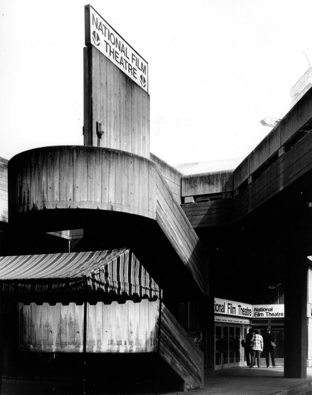 National Film Theatre (now BFI Southbank), c.1981