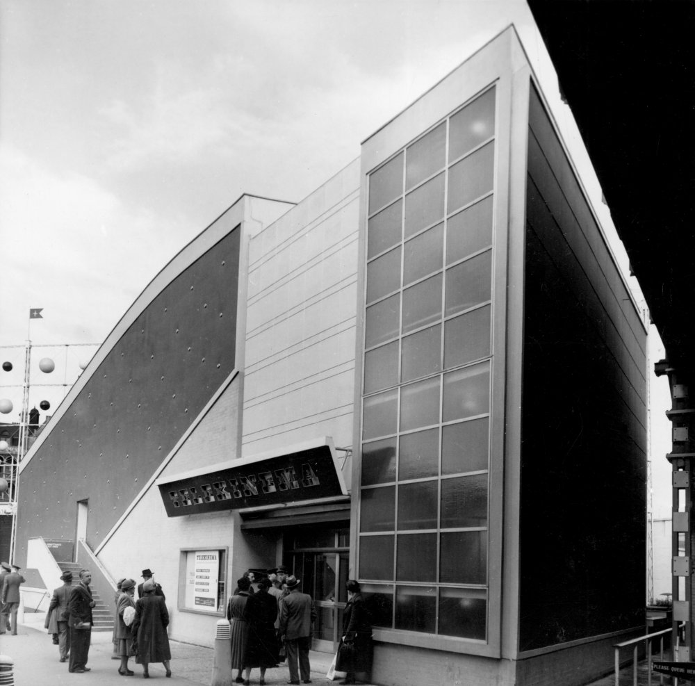 National Film Theatre Telekinema at the Festival of Britain (later moved to the current BFI Southbank site), London, 1951