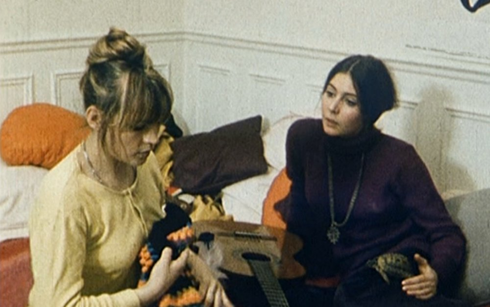 France Dougnac as Agnès and Myriam Boyer as Rosalie in Nausicaa