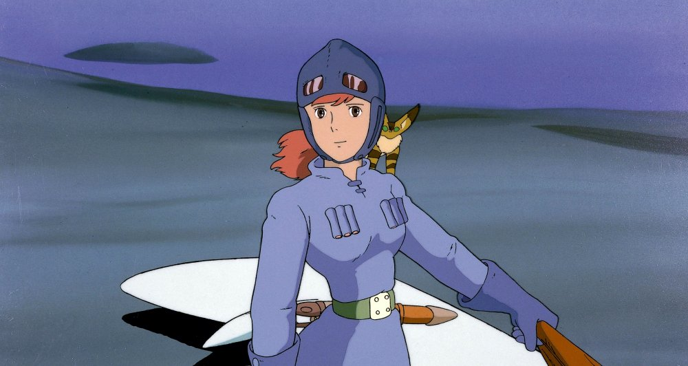 Nausicaä of Valley of the Wind (Kaze no tani no Naushika, 1984)
