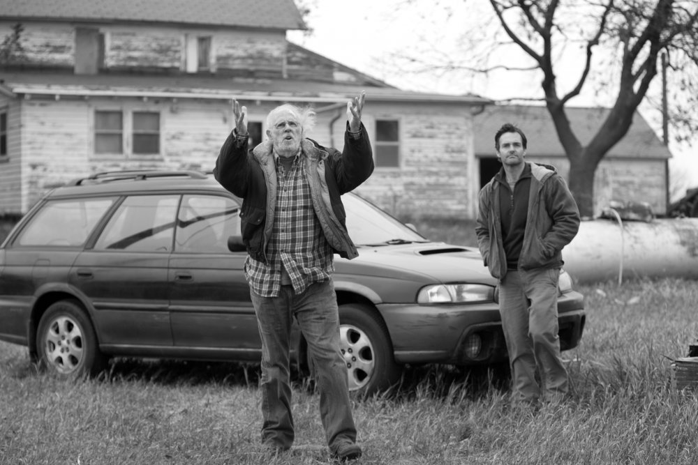 Bruce Dern and Will Forte in Nebraska (2013)