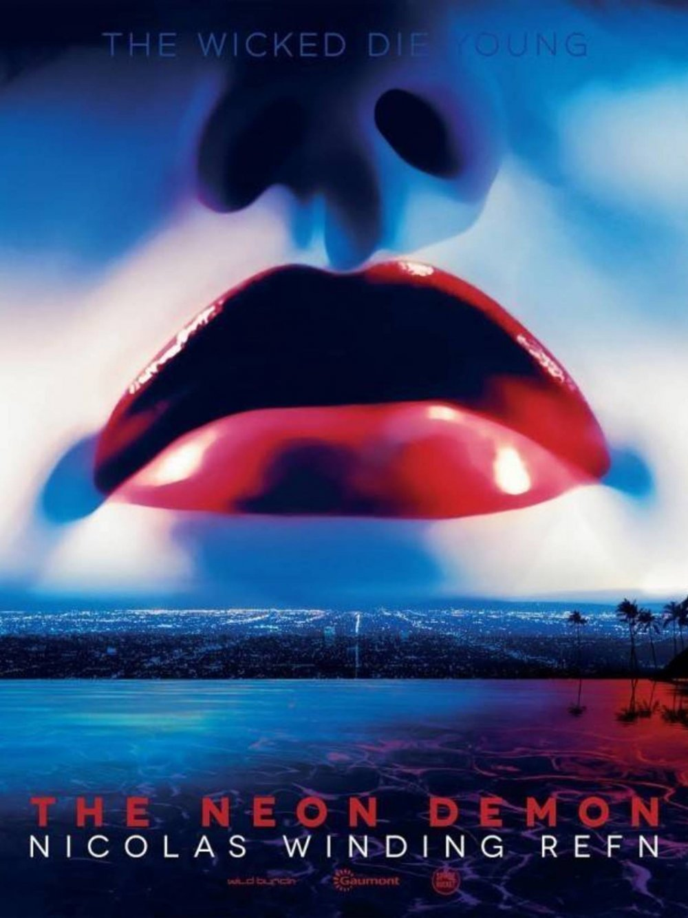 A festival poster for The Neon Demon (2016)