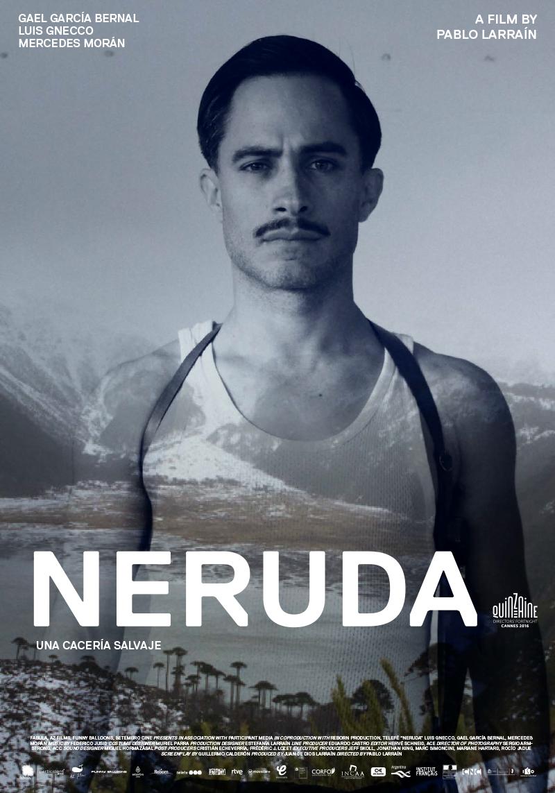 Neruda (2016) poster