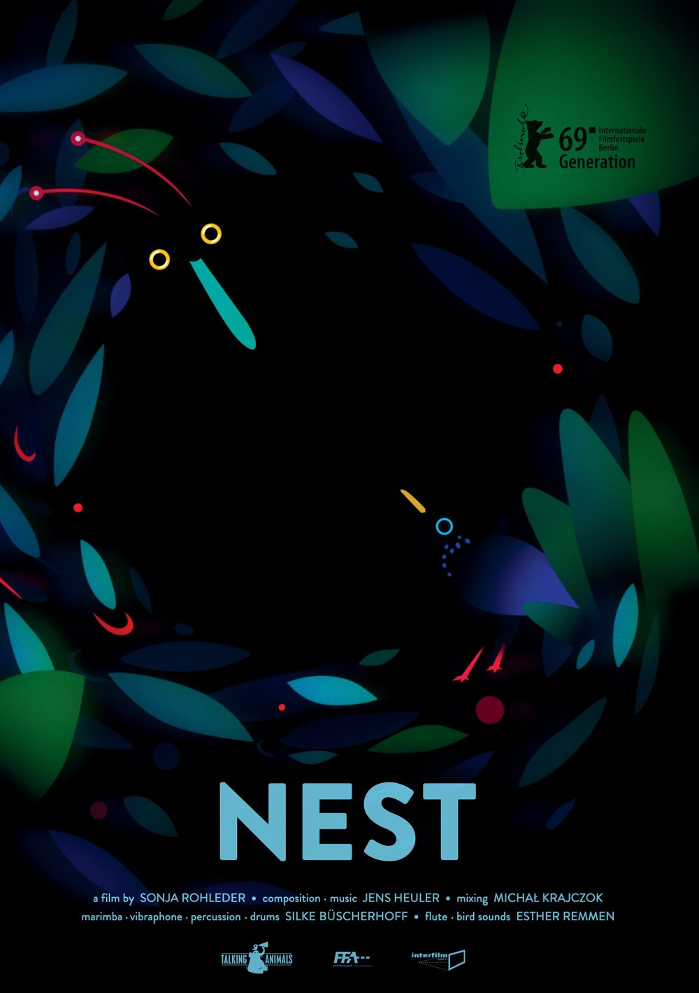 <strong>Nest</strong>  A bird of prey is keen to make a special friend
