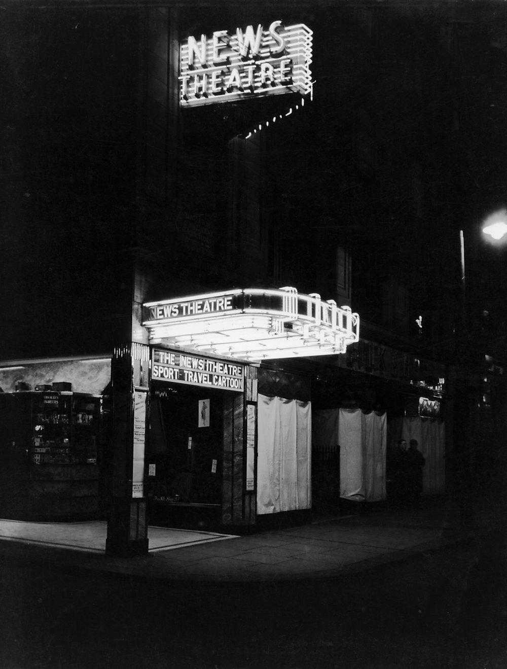 News Theatre (now Tyneside Cinema), Newcastle, 1938