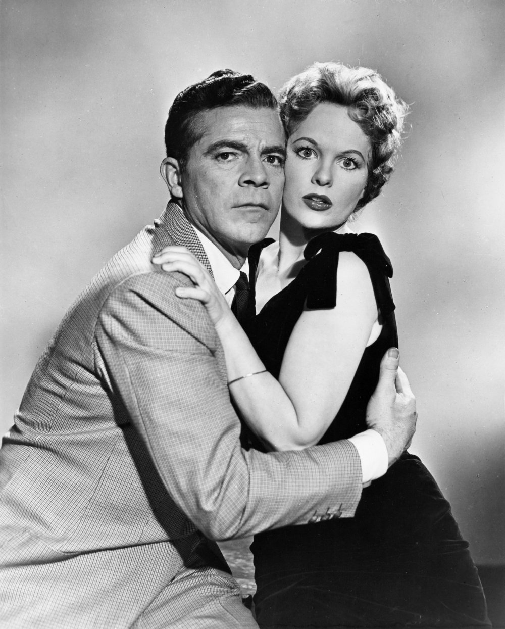 Dana Andrews and Peggy Cummins in Night of the Demon (1957), one of innumerable horror films excerpted in Fear Itself