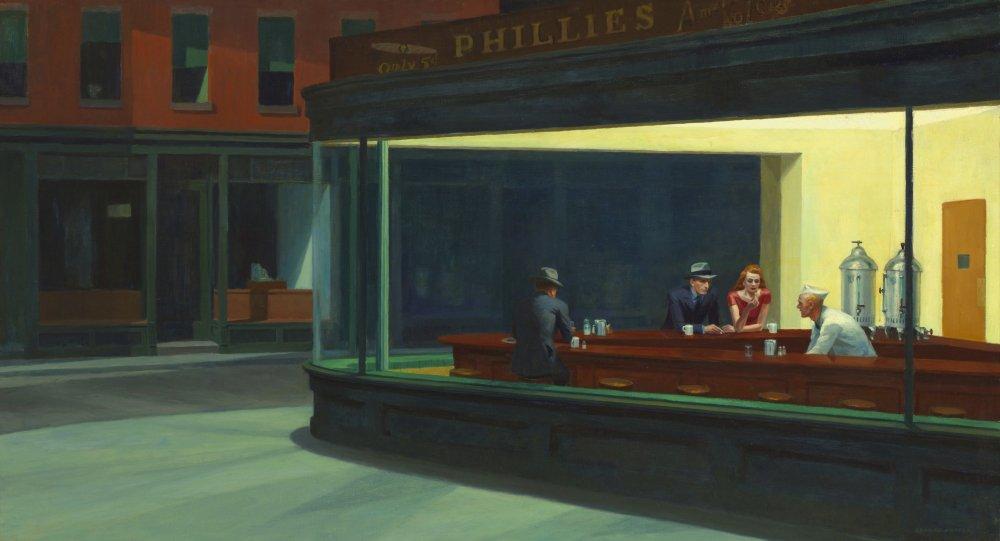 Nighthawks (1942), Edward Hopper