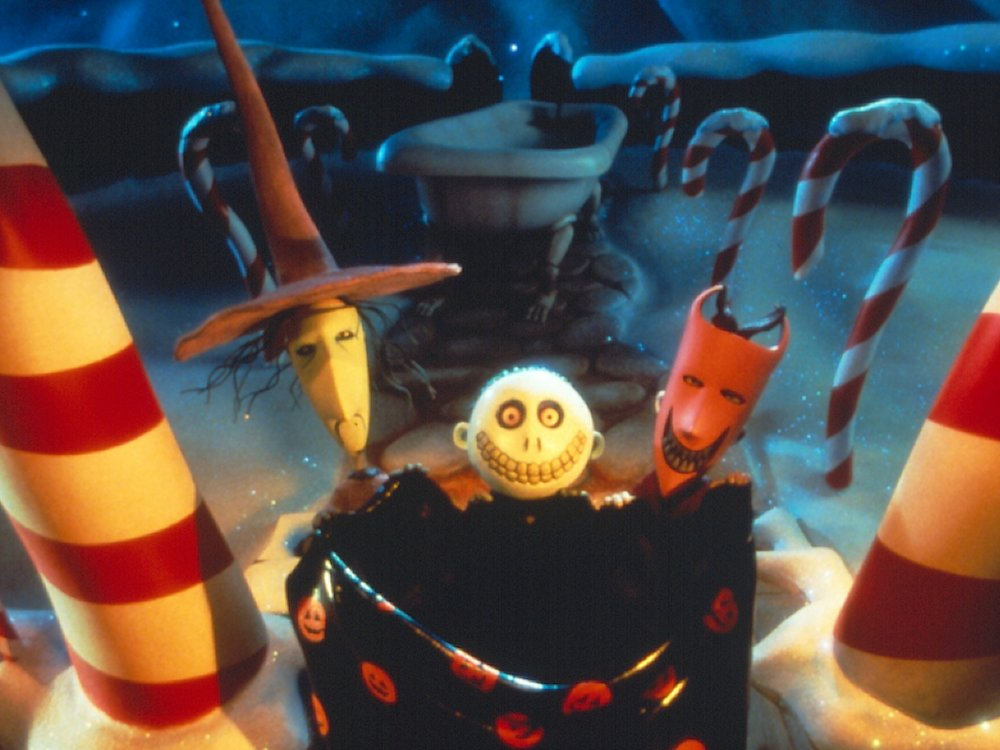 The Nightmare Before Christmas (1993) VHS packshot