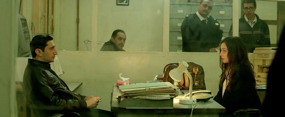 Fares Fares (left) in The Nile Hilton Incident (2017)