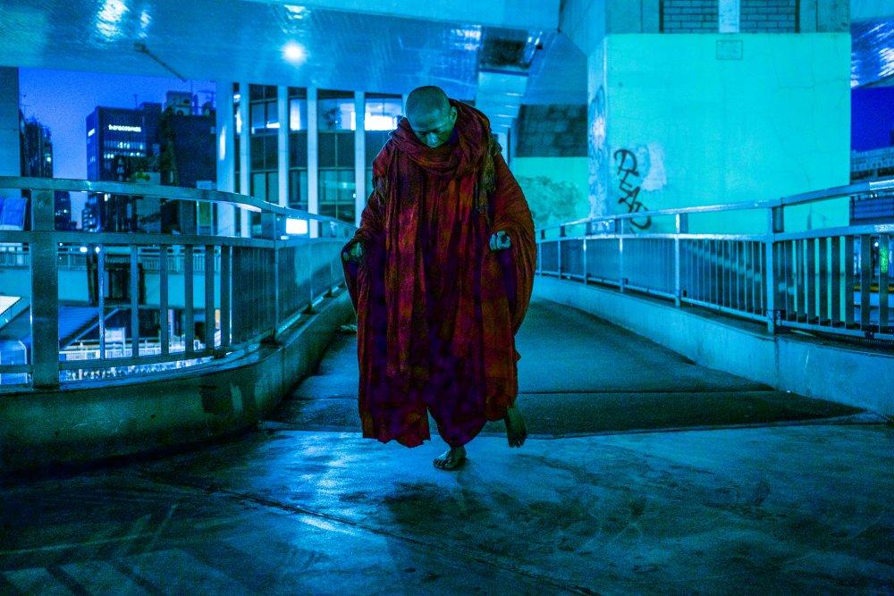 No No Sleep (2015), part of Tsai's Walker series