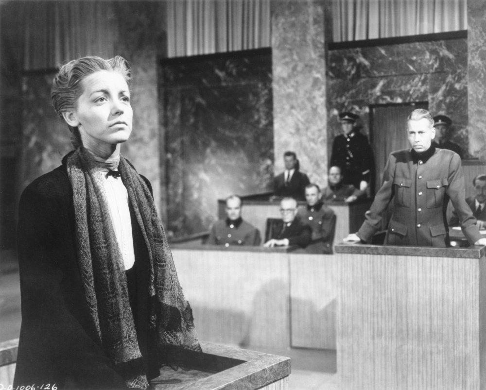 Marsha Hunt in None Shall Escape (1944)
