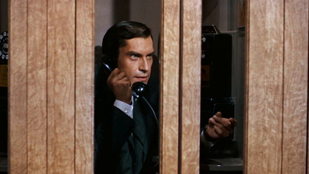 As James Mason's henchman Leonard in North by Northwest (1959)