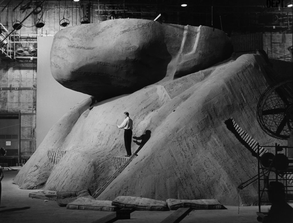 North by Northwest (1959) behind the scenesh