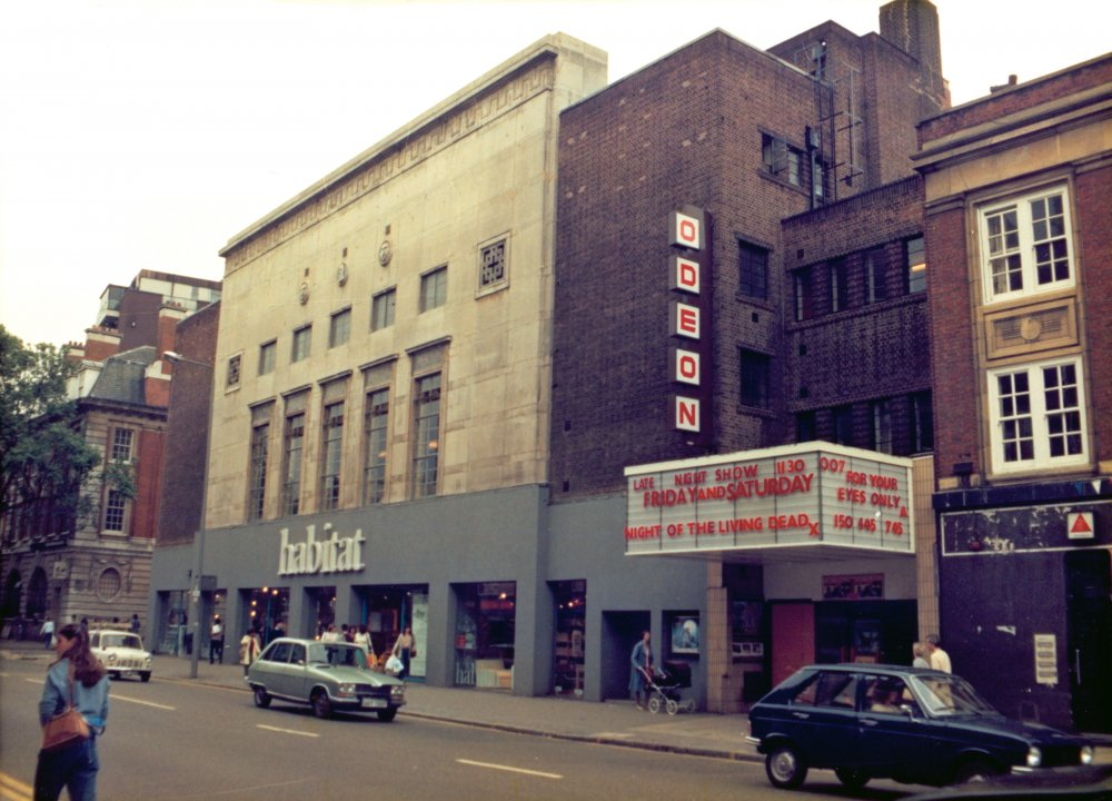 The Chelsea Odeon, which changed its name from the Gaumont Theatre in 1963