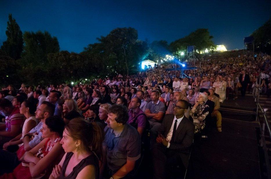 Blackmail screening at the 2014 Odessa International Film Festival