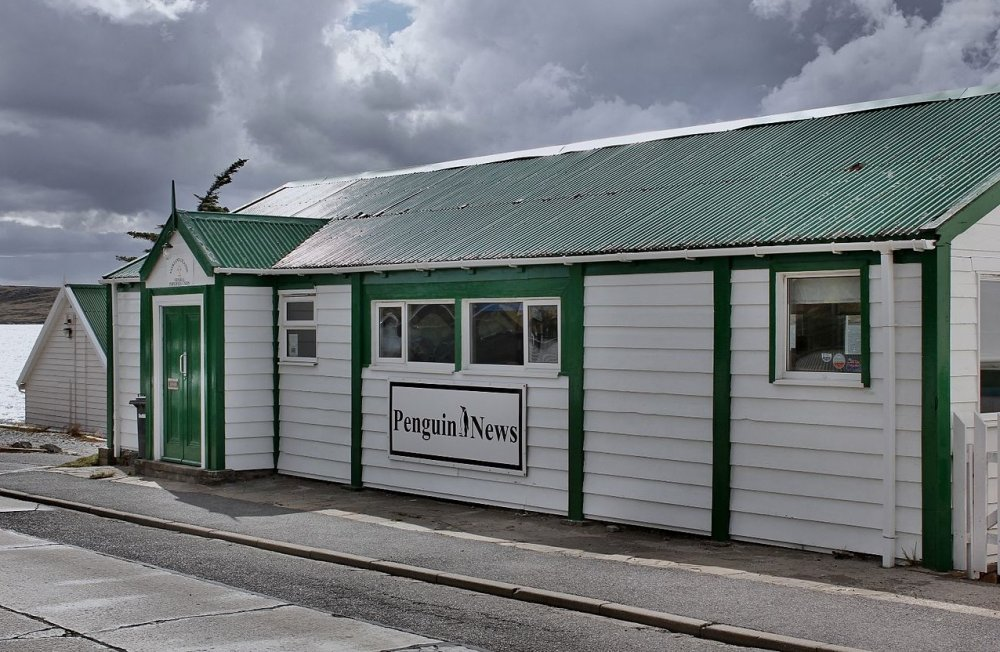 Offices of the Penguin News, Falkland Islands