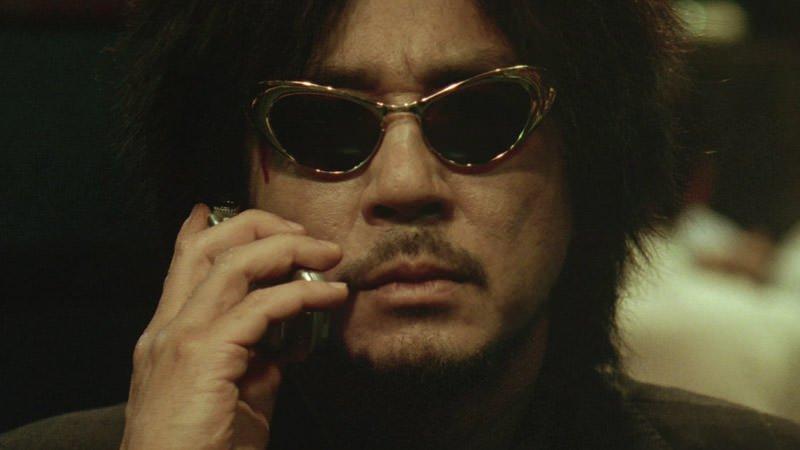 Oh Dae-su (Choi Min-sik) in Oldboy (2003)