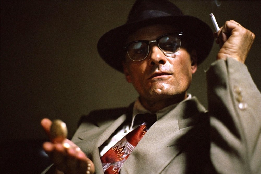 Viggo Mortensen as 'Old Bill Lee', otherwise known as William Burroughs