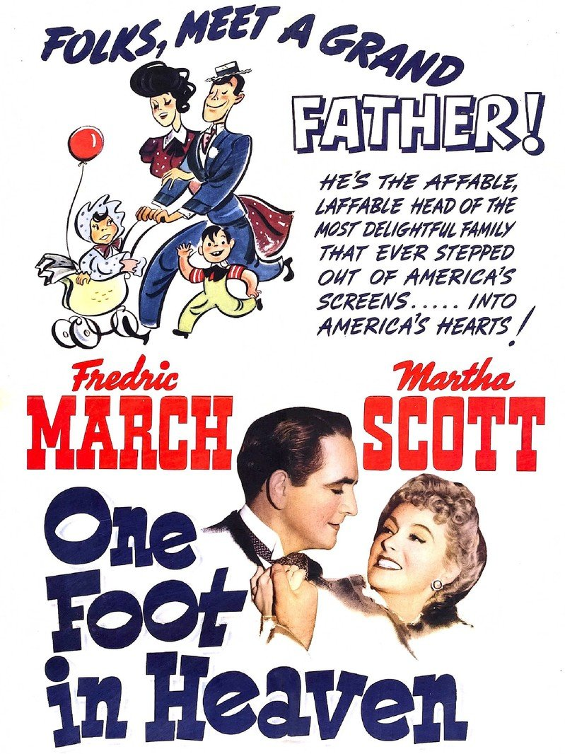One Foot in Heaven (1941) poster