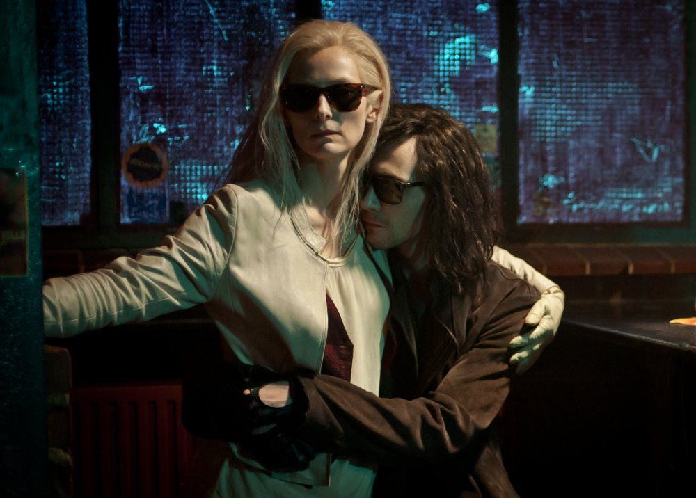 Tilda Swinton and Tom Hiddlestone in Jim Jarmusch's droll vampire comedy Only Lovers Left Alive, this year's S&S Gala
