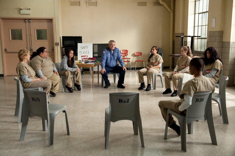 Prison councillor Sam Healy hosts a 'safe circle'