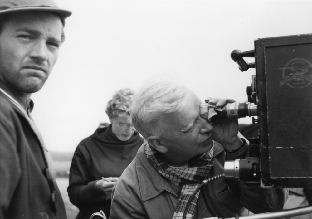 Carl Dreyer filming his 1955 masterpiece Ordet