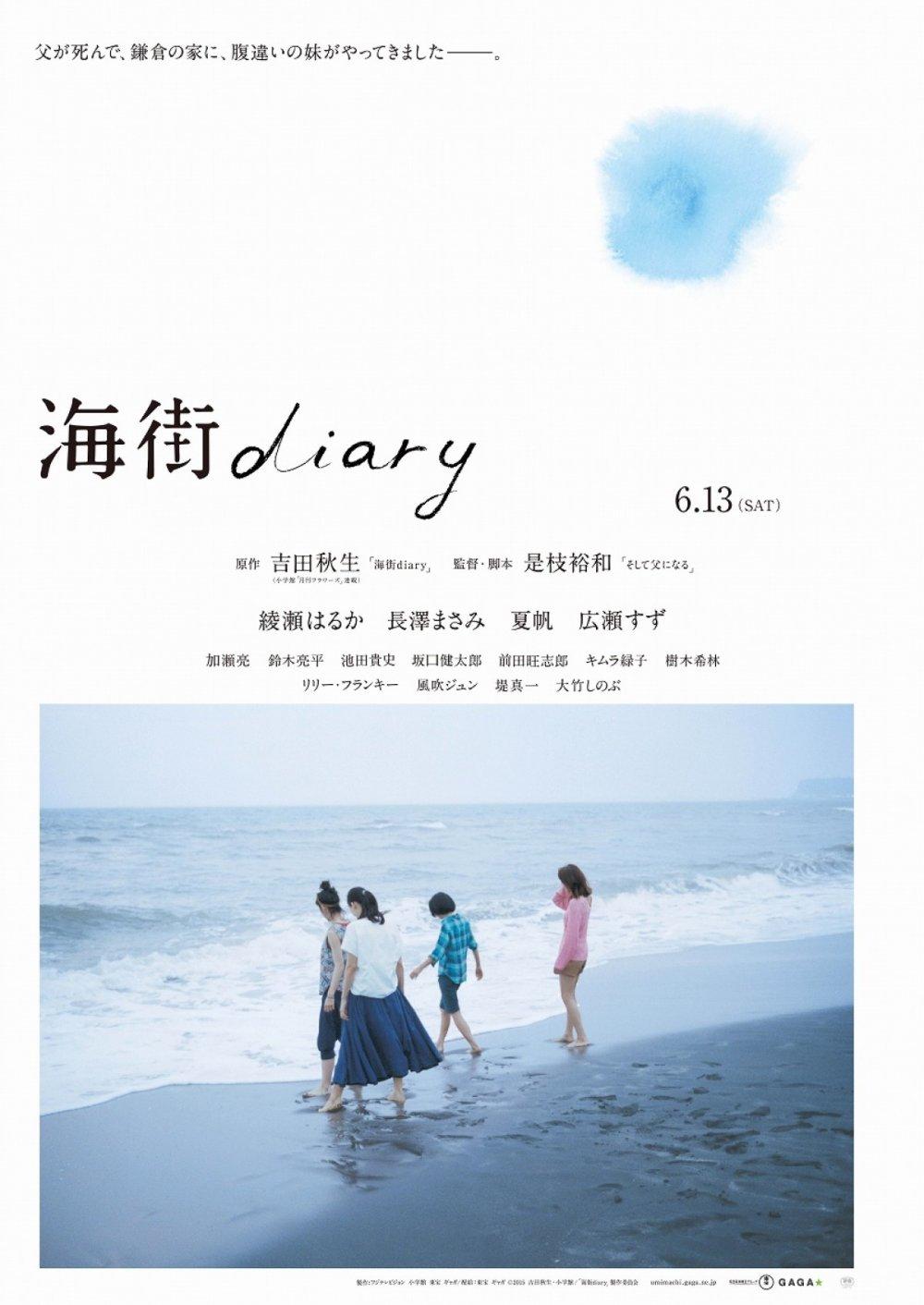 Koreeda Hirokazu's Umimachi's Diary, aka Our Little Sister