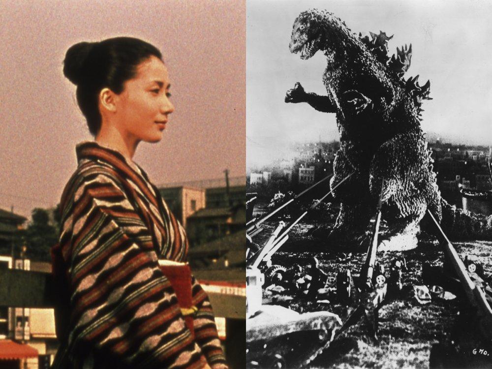 Yasujiro Ozu's An Autumn Afternoon (1962) / Ishiro Honda's Godzilla (1954)