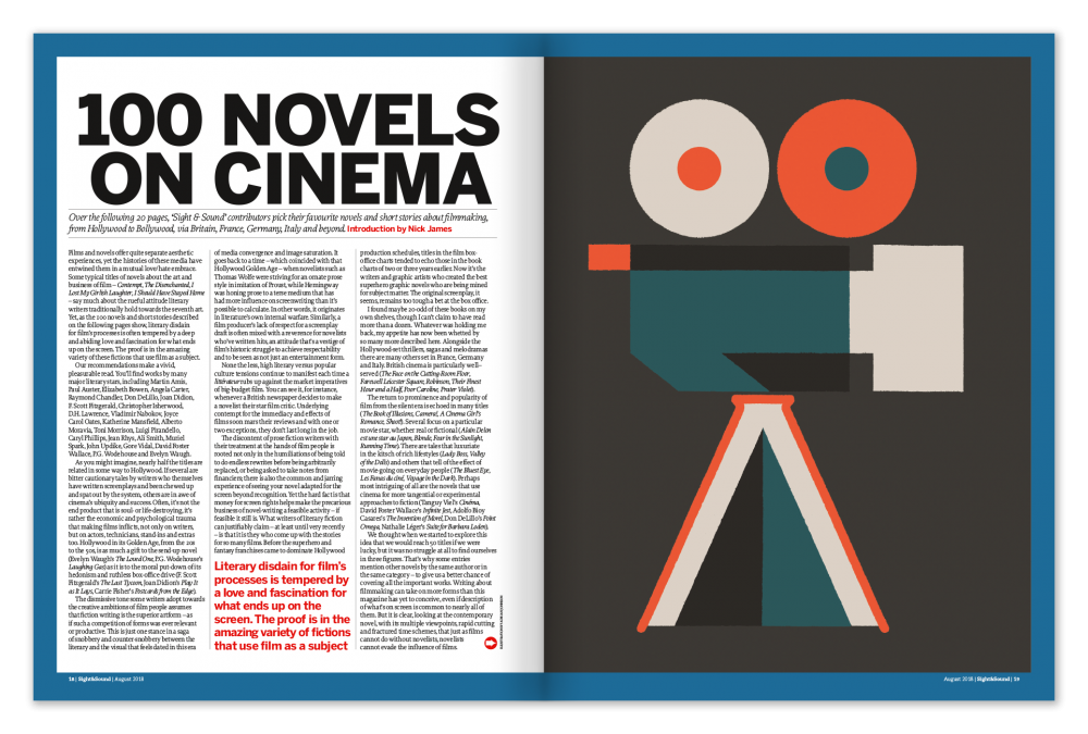 100 Novels on Cinema