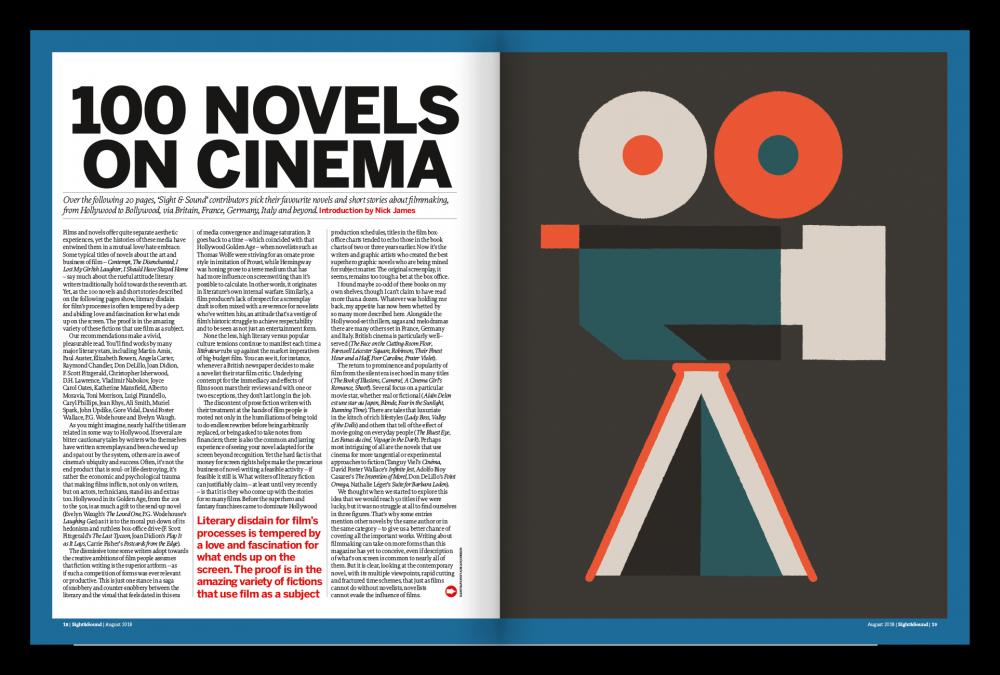 100 Novels on Cinema